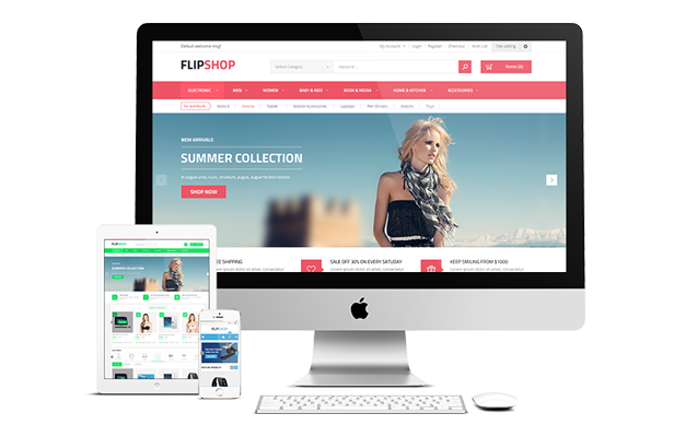 Flipshop - Fully Responsive