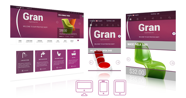 Gran - Premium Responsive Magento Theme