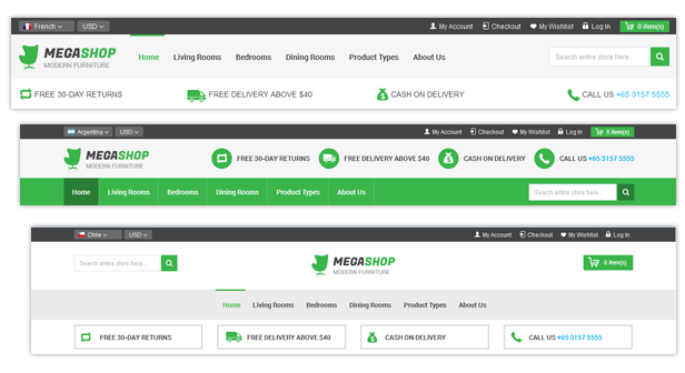 Megashop - Multipurpose Responsive Magento Theme