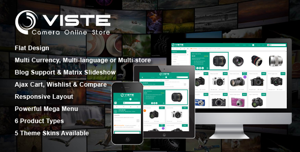 [Magento] SM Viste - Fully responsive theme with flat design