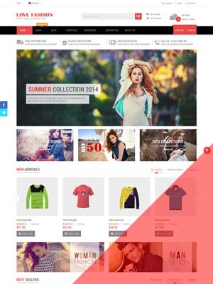 SW Love Fashion - Responsive WordPress Theme