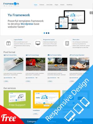 YA Framework - Responsive WordPress Theme Framework