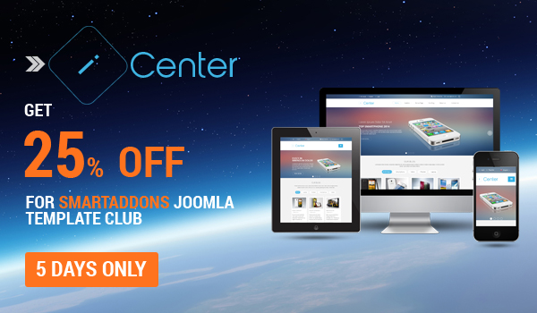 SJ iCenter - Responsive Joomla template