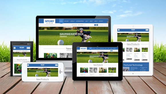 SJ Sport Store - A modern Online Store Template for Joomshopping