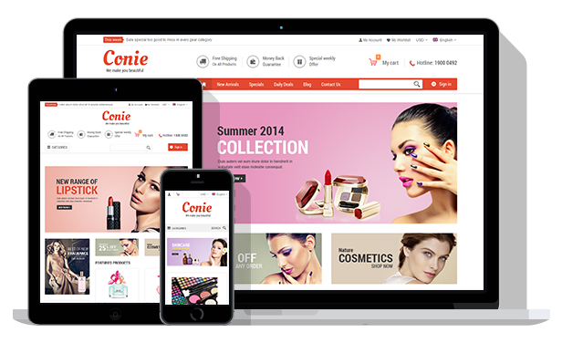 SM Conie- Fully Responsive
