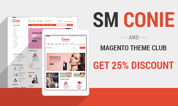 Chance to get 25% OFF with New Magento Theme