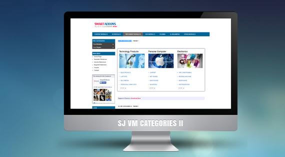 SJ VM Categories II - VirtueMart module for Joomla 2.5