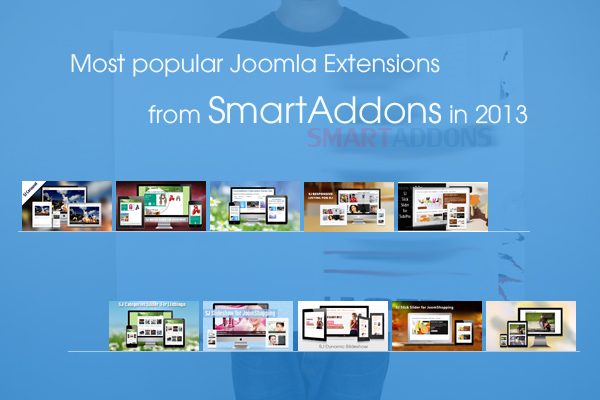 Most popular Joomla extensions from SmartAddons