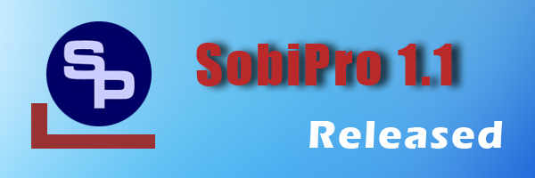SobiPro 1.1 stable released