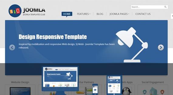 SJ Joomla3 - free Joomla template