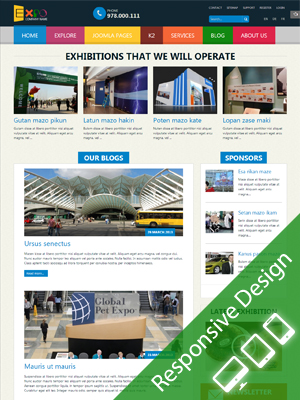 SJ Expo - Template for Joomla 2.5