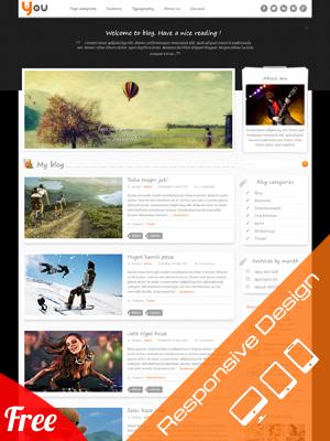 SW You - Free responsive WordPress Theme