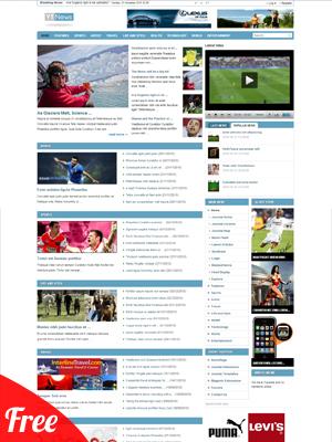 Yt News - Free Joomla! Magazine Template