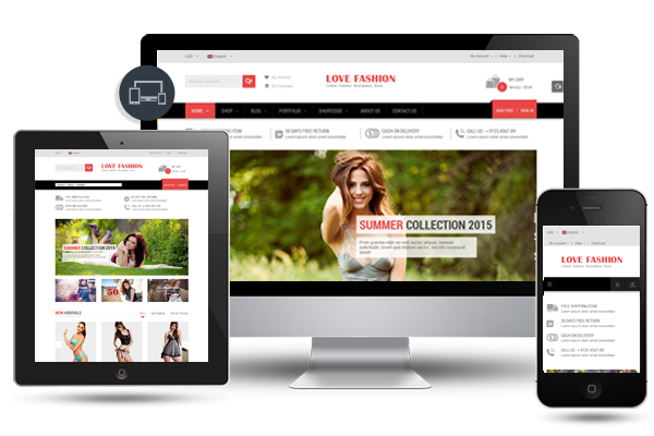 Love Fashion - Responsive