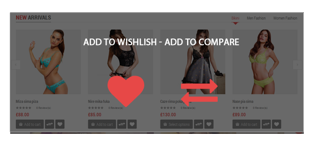 Love Fashion - Wishlist-Compare