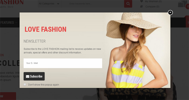 Love Fashion - Responsive Multipurpose OpenCart Theme