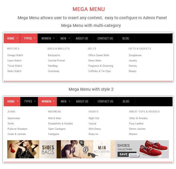 Love Fashion - Responsive Prestashop Fashion Theme