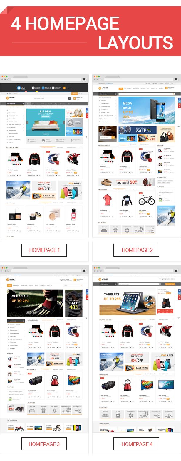 Market - Homepage