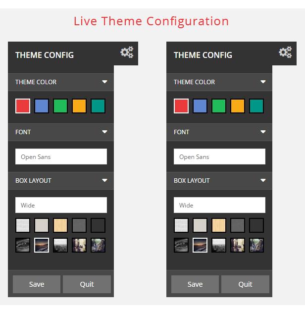 Maxshop - Theme Config