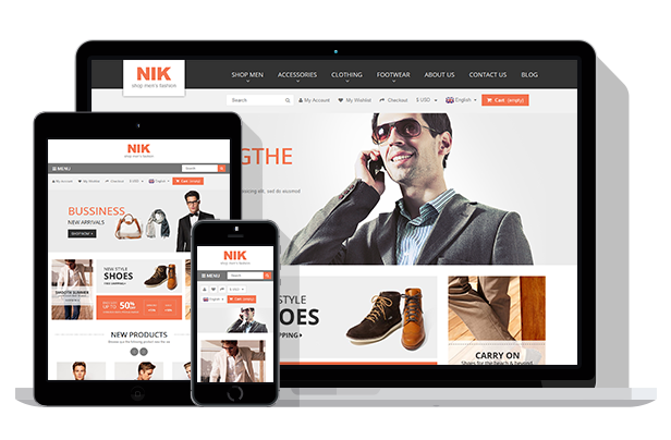 Nik - Responsive Multi-Purpose Prestashop Theme