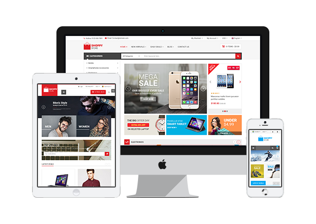 Shoppy Store- Fully Responsive