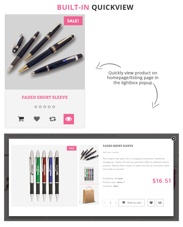Stationery - Premium Responsive Prestashop Theme