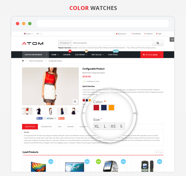 Atom - Color Watches