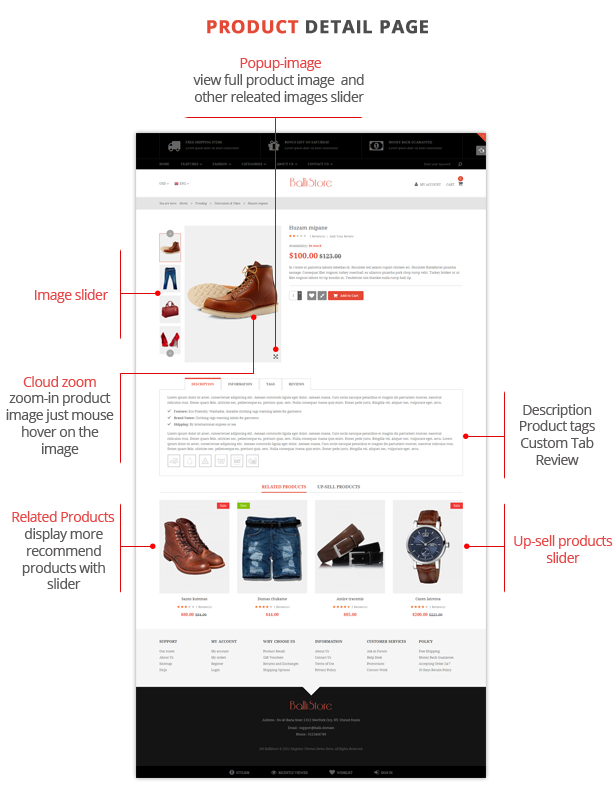 Ballishop - Multipurpose Magento Theme