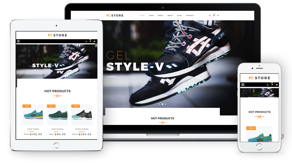 FCstore - Fully Responsive
