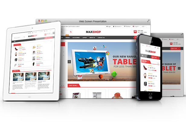 Maxshop - Fully Responsive
