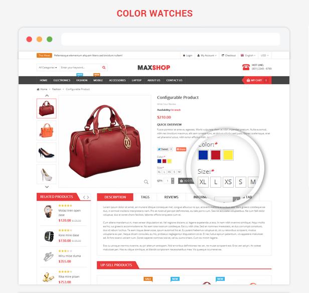Maxshop - Premium Multipurpose Magento Theme