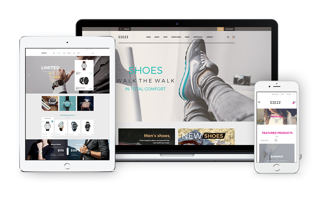 Siezz - Fully Responsive