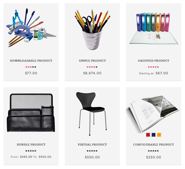 Stationery - Responsive Magento Theme