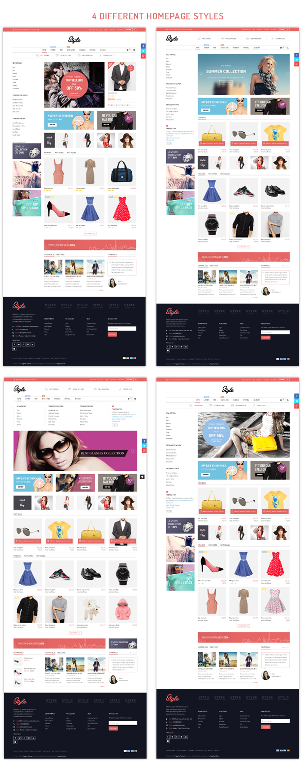 Style - Homepage