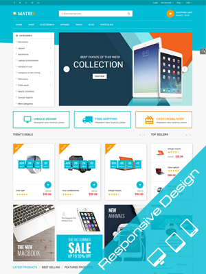 SW Matrix - WooCommerce Responsive WordPress Theme