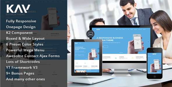 SJ Kay - Professional Business Joomla Template