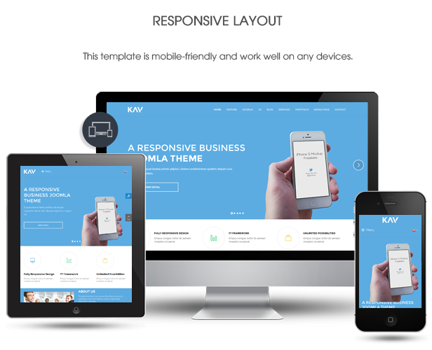 Kay - Responsive Business Joomla Template