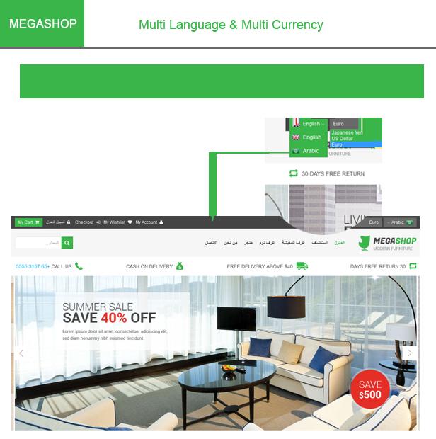 MegaShop - Multipurpose Responsive Joomla Template