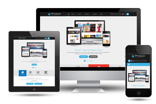 Product - Responsive Business Joomla Template