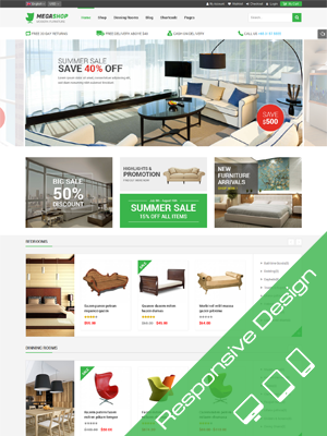SW Megashop - Responsive WordPress Theme