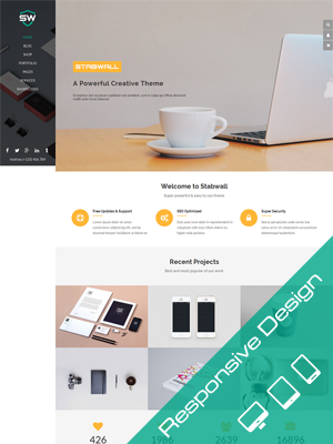 SW Stabwall - Responsive WordPress Theme