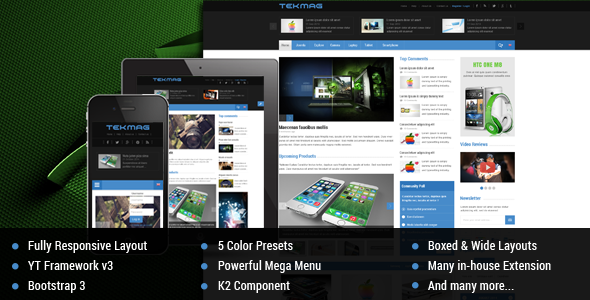 Best Joomla Templates for March