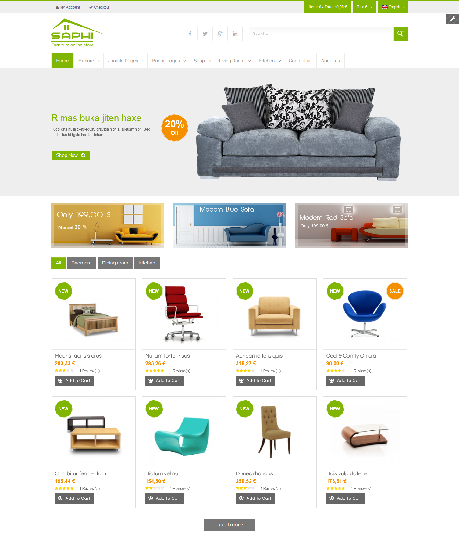 Best 10 virtuemart templates 2015 for your ecommerce site for E commerce sites templates