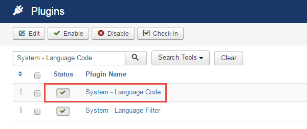 Install multi-language - Language coder plugin
