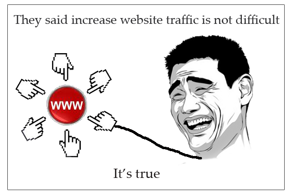 Simple methods to increase website traffic