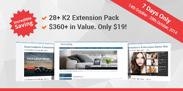 The K2 Extension Pack Discount