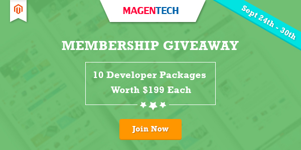 Magento Giveaway: Win 10 MTC Developer Licenses at Magentech