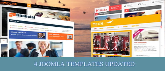 Updated Joomla Templates by Smartaddons