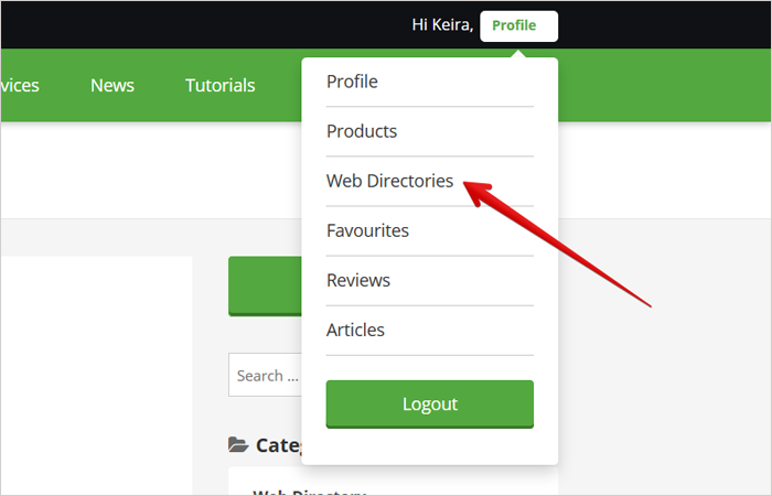 submit a website url to Cms portal