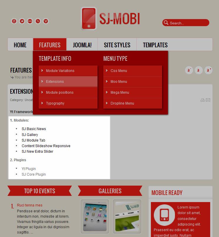 SJ Mobi Template Userguide